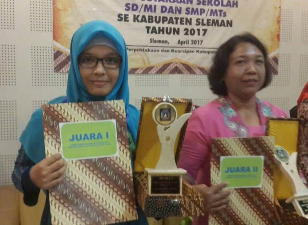 SD Muhammadiyah Condongcatur Juara 1 Perpustakaan Se - Kabupaten Sleman