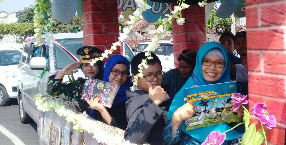 """Usung Tema """"Omah Pinter"""",  SD Muhammadiyah Condongcatur Meriahkan Pawai Budaya Obj II"""
