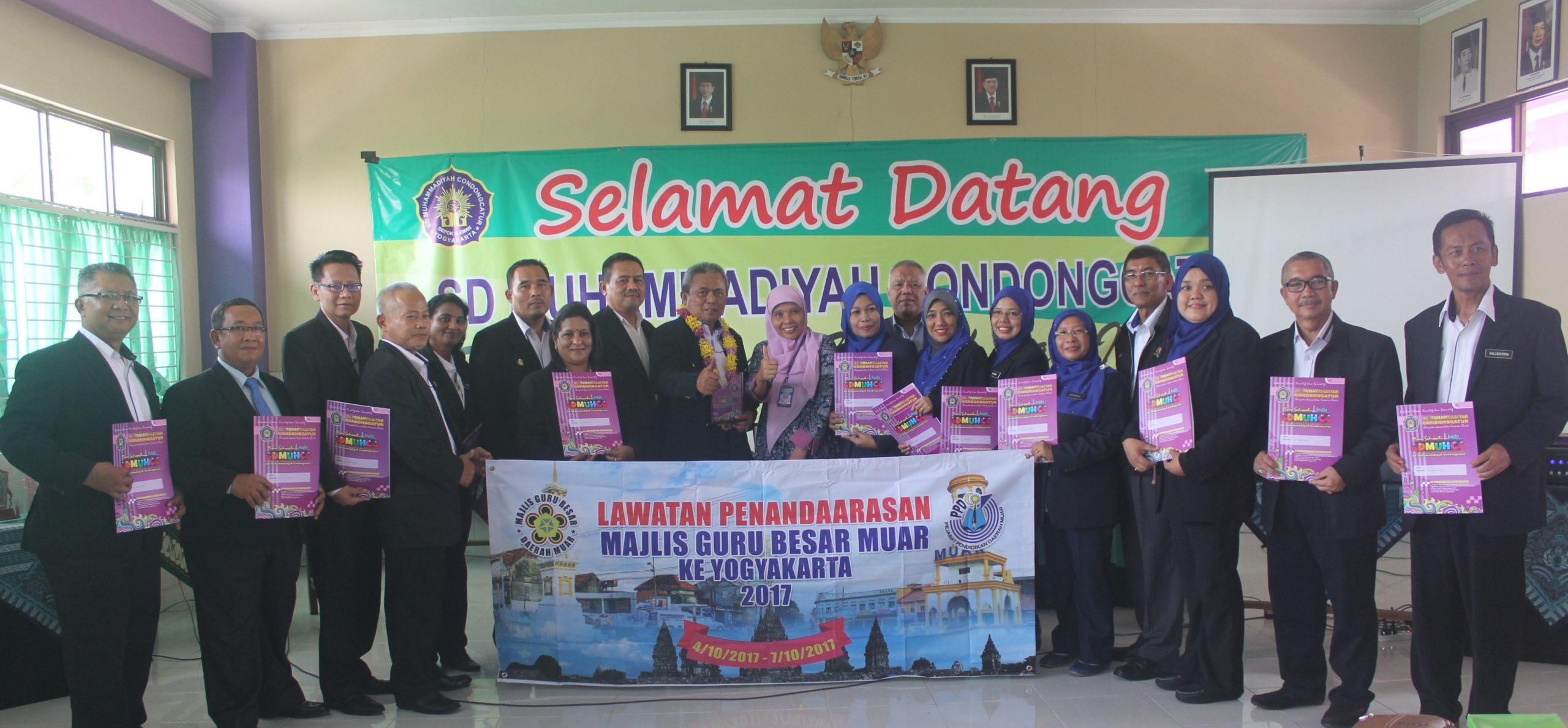 SD Muhammadiyah Condongcatur Luaskan Jaringan Kerjasama Dengan Malaysia