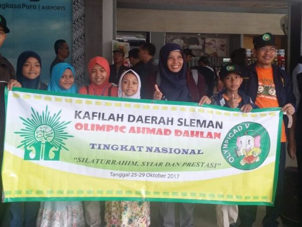 Kafilah SD Muhammadiyah Condongcatur Raih 3 Medali Emas, 2 Perak dan 1 Perunggu Dalam Olympicad Ahmad Dahlan Tingkat Nasional