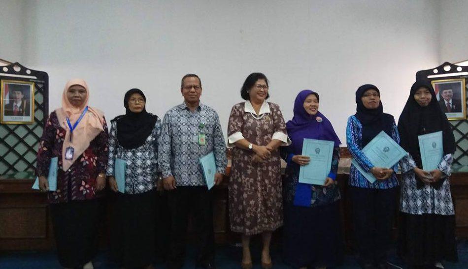 """Perpustakaan """"HAMKA"""" SD Muhammadiyah Condongcatur Raih Predikat A dari Perpusnas RI"""