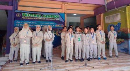 Festival Tahfidz di SD Muhammadiyah Condongcatur