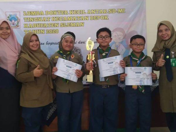 Tim Dokcil SD Muhammadiyah Condongcatur Berhasil Raih Juara 1 se Kecamatan Depok
