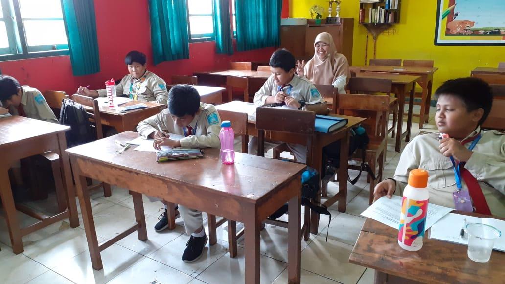 Tingkatkan Kualitas Hadapi USBN 2020, Pembinaan Sore Diikuti oleh Para Siswa Kelas 6