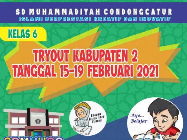 Tryout Kelas 6 (Kabupaten 2)