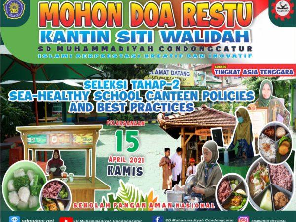 SD Muhammadiyah Condongcatur Percontohan Kantin Sehat Tingkat Asia Tenggara
