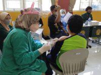 Vaksinasi Massal Pelajar SMP Muhammadiyah di Kapanewon Depok